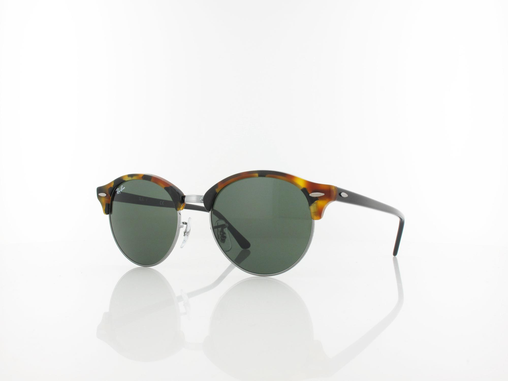 Ray Ban | Clubround RB4246 1157 51 | spotted black havana / green