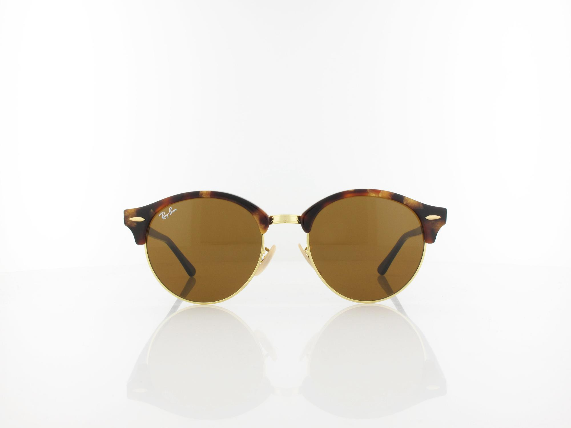 Ray Ban | Clubround RB4246 1160 51 | spotted brown havana / brown