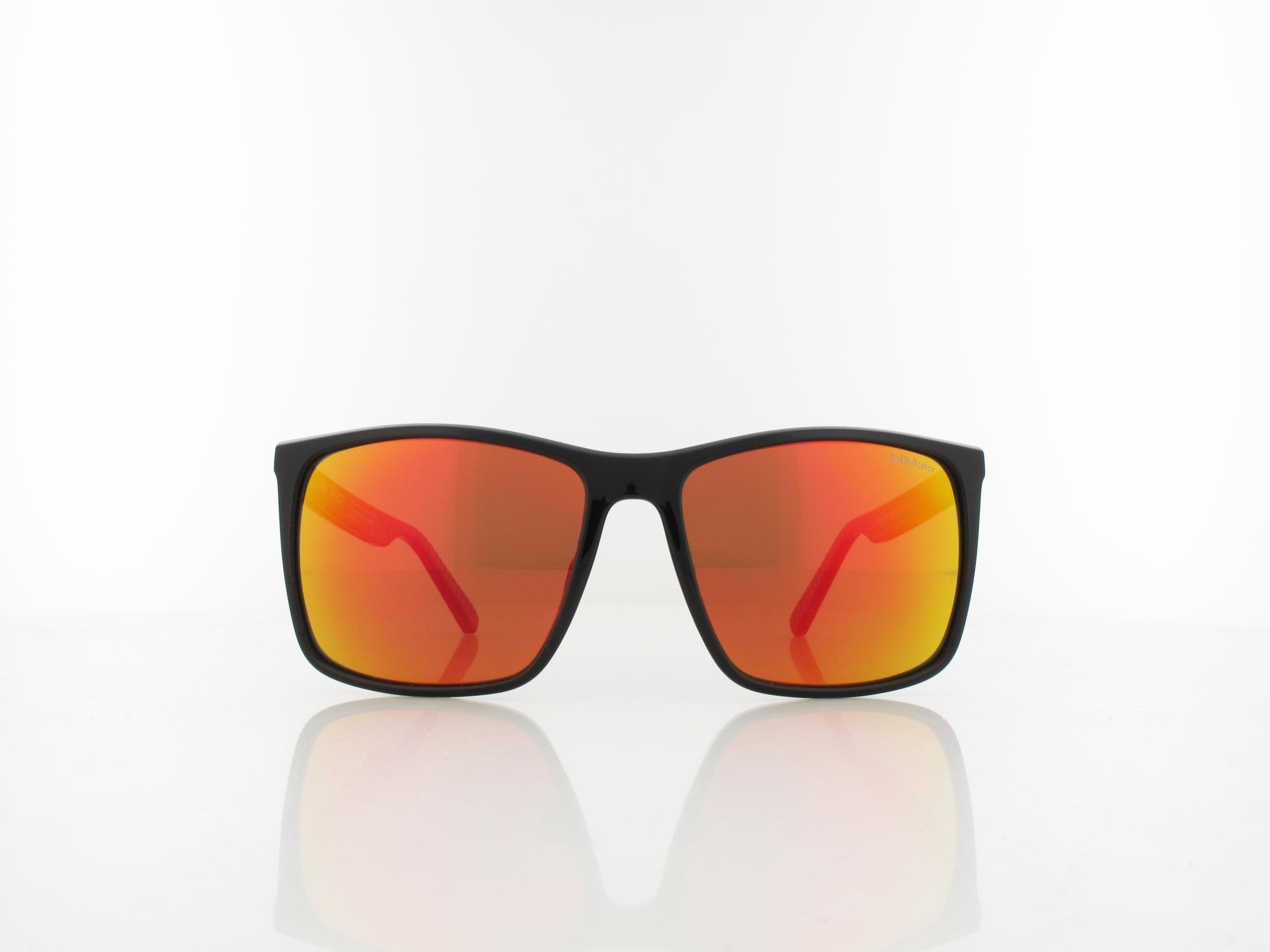 Red Bull SPECT | BOW 002P 59 | black / brown with red mirror pol
