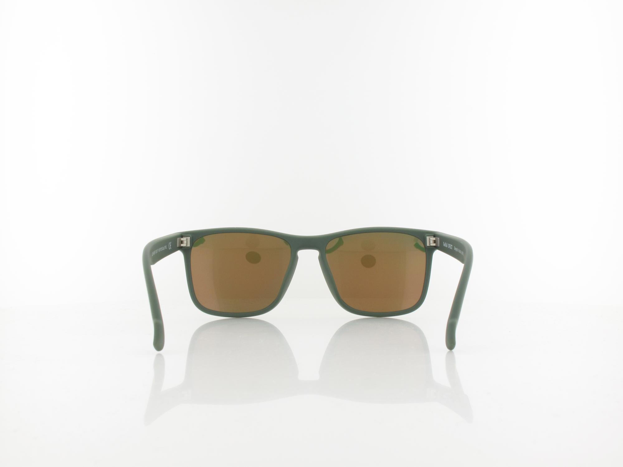 Red Bull SPECT | LEAP 006P 55 | olive green / brown with red mirror pol