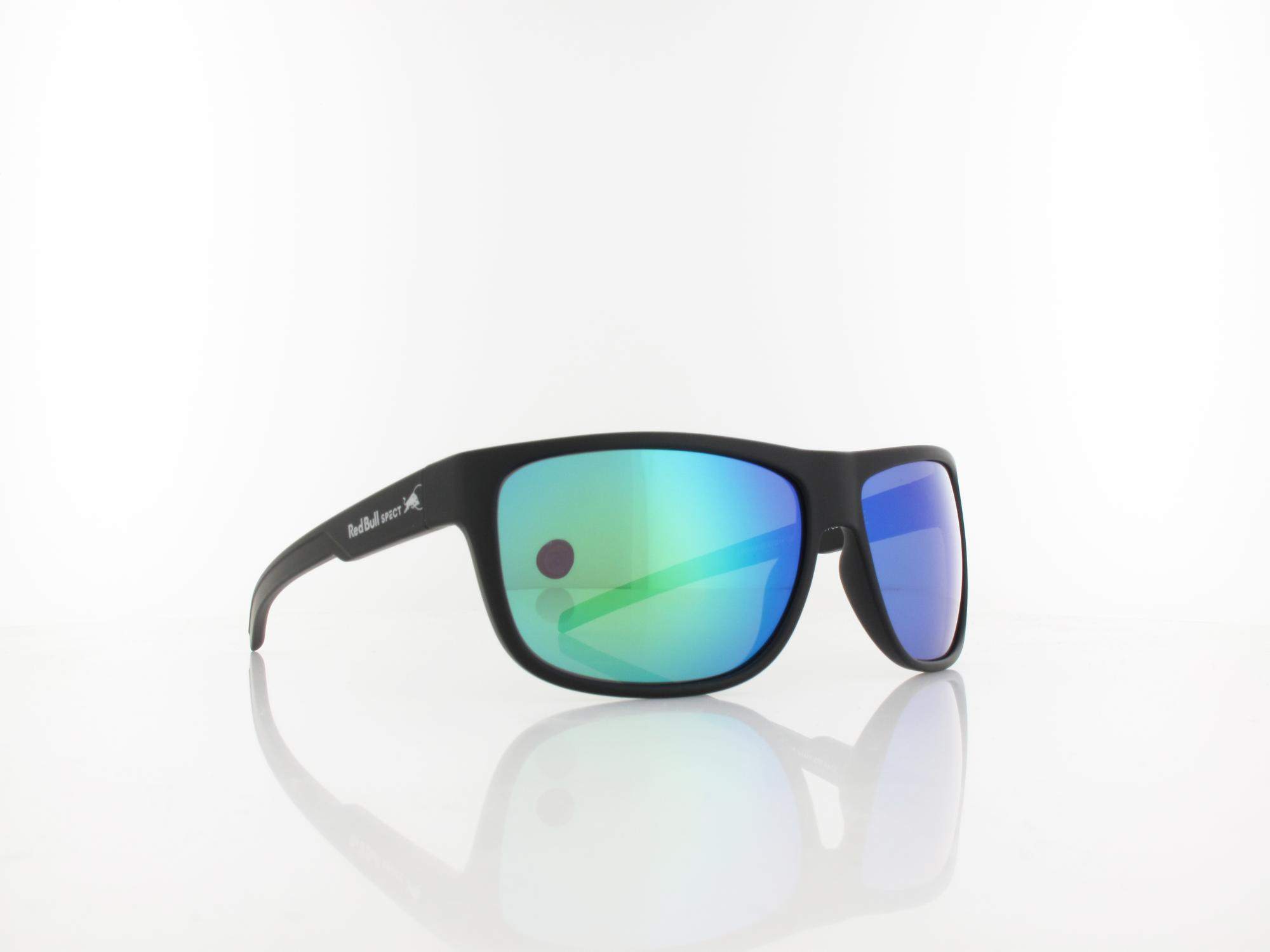 Red Bull SPECT | LOOM 005P 62 | black / smoke with green mirror pol