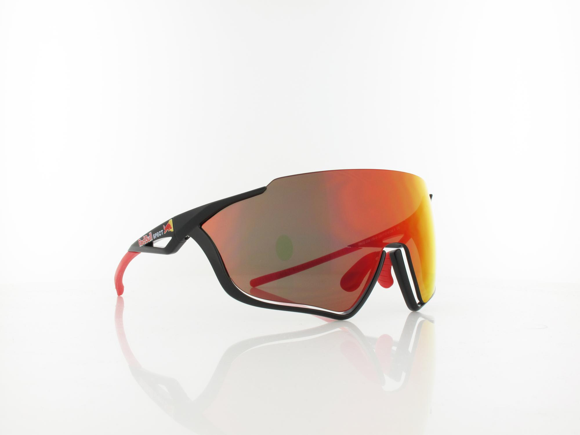 Red Bull SPECT | PACE 006 13 | black / smoke with red mirror