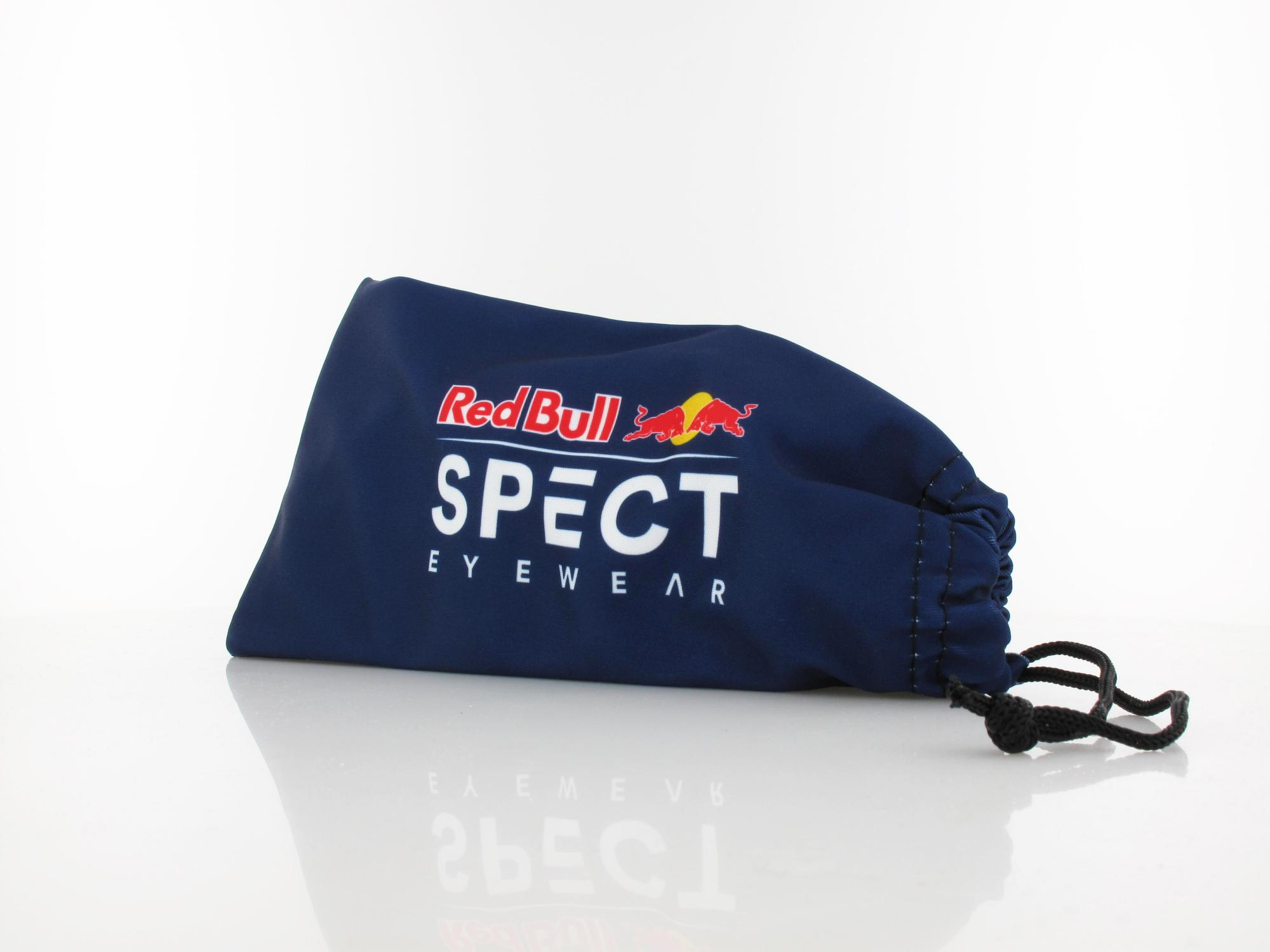 Red Bull SPECT | SONIC 002P 59 | black / smoke with blue mirror pol