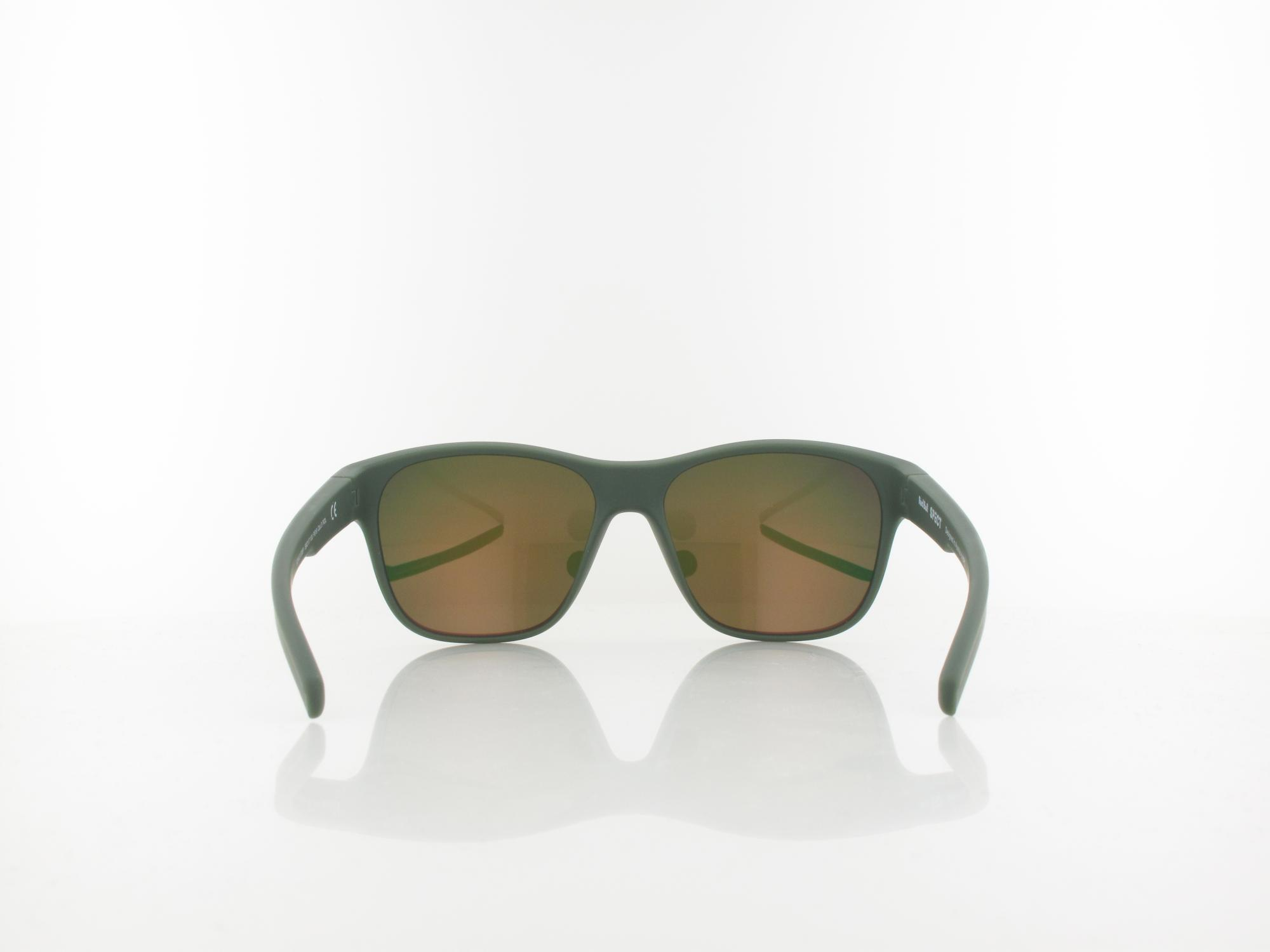 Red Bull SPECT | SONIC 006P 59 | olive green / brown with red mirror pol
