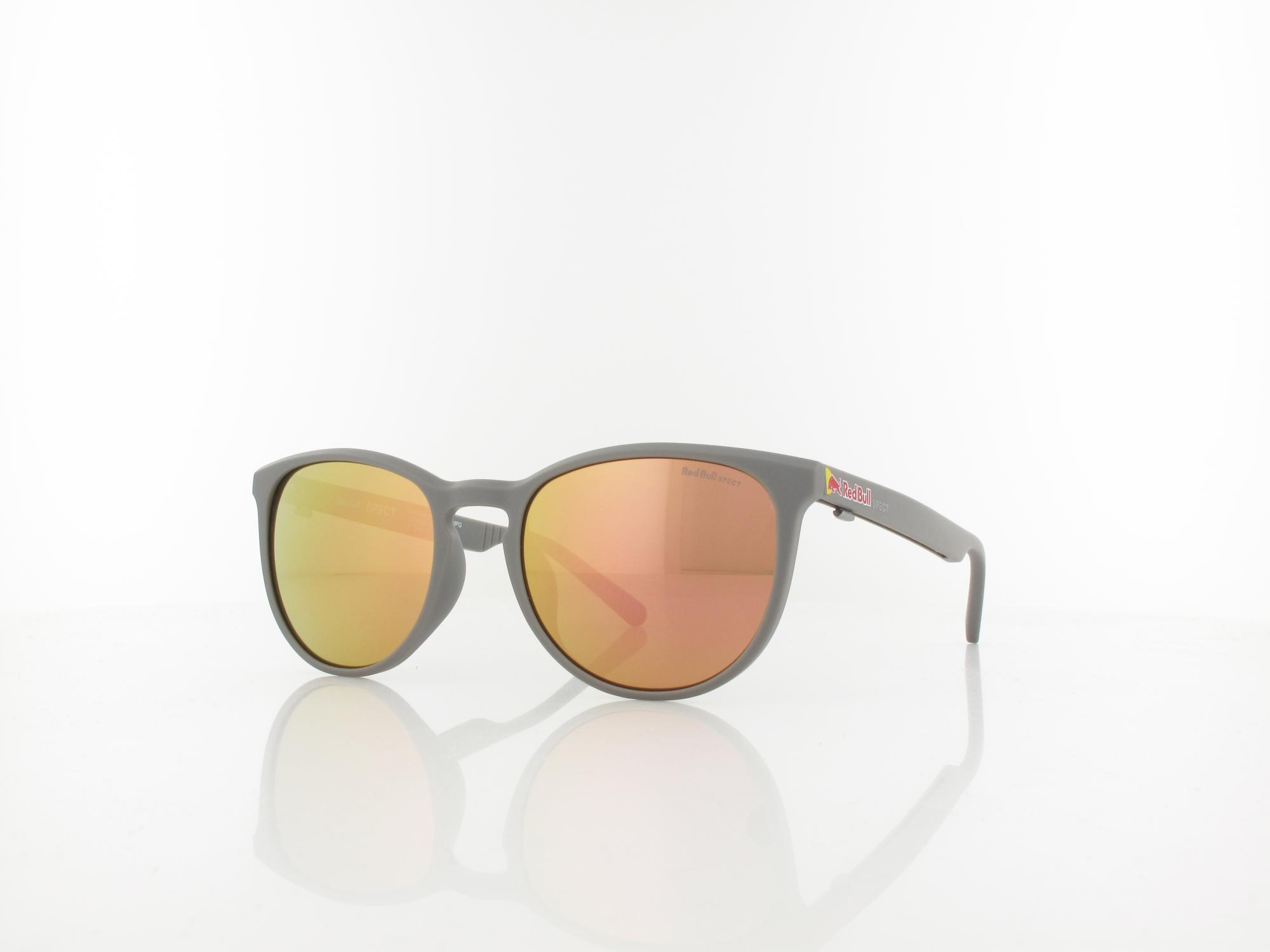 Red Bull SPECT | STEADY 004P 51 | warm grey / brown with peach mirror pol