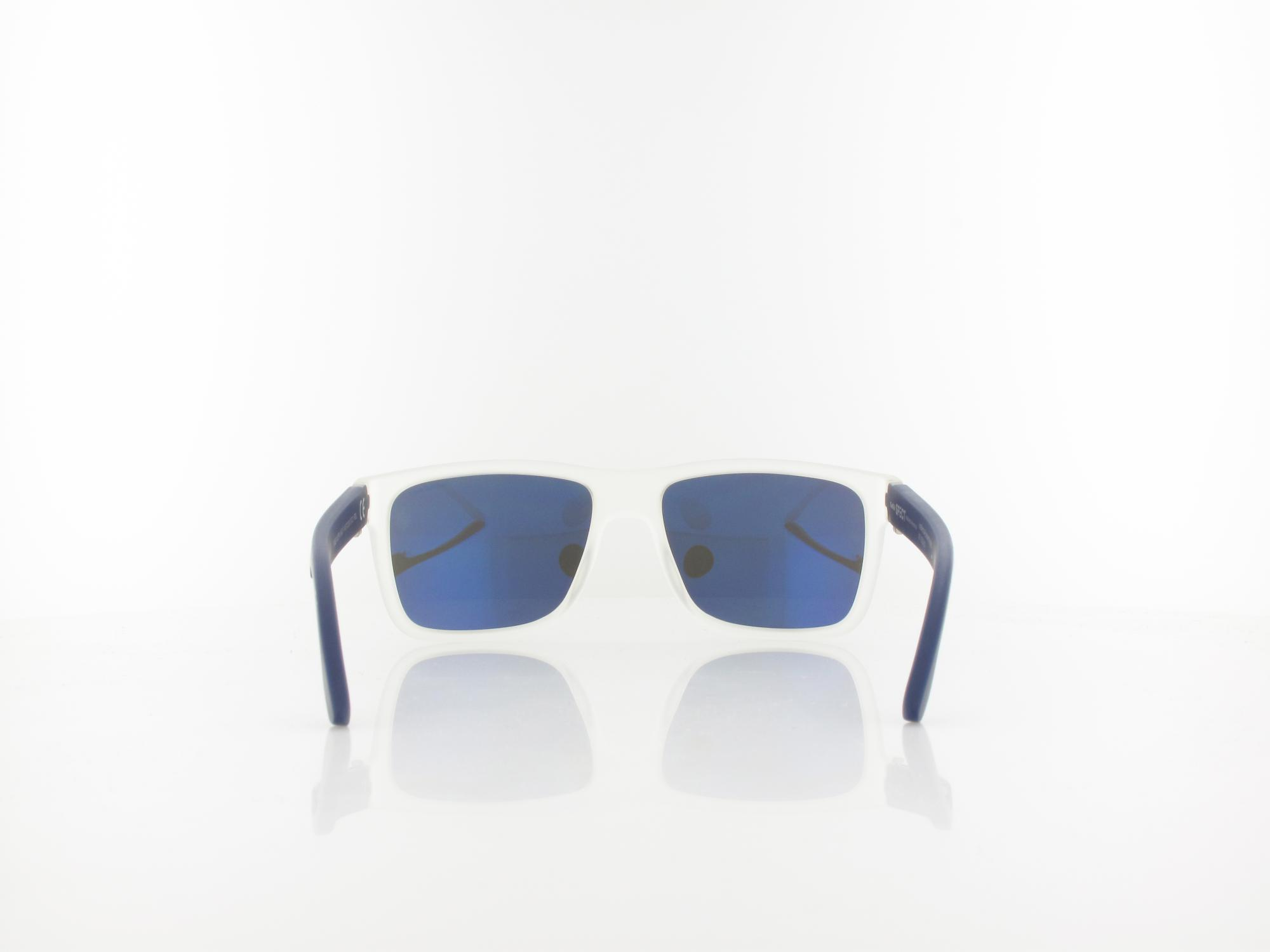 Red Bull SPECT | WING1 002PN 56 | matte crystal / blue mirror pol