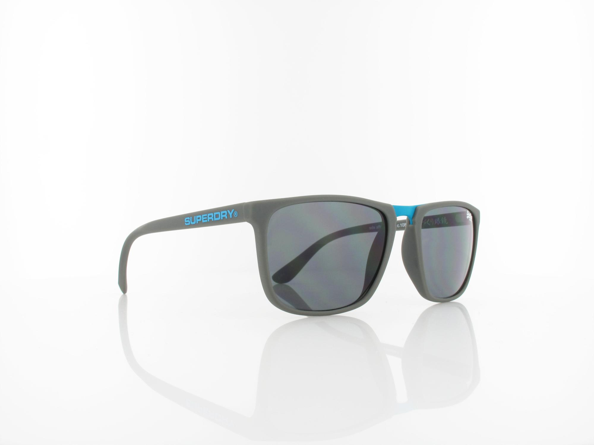 Superdry | Aftershock 108 53 | rubberised grey blue / solid smoke