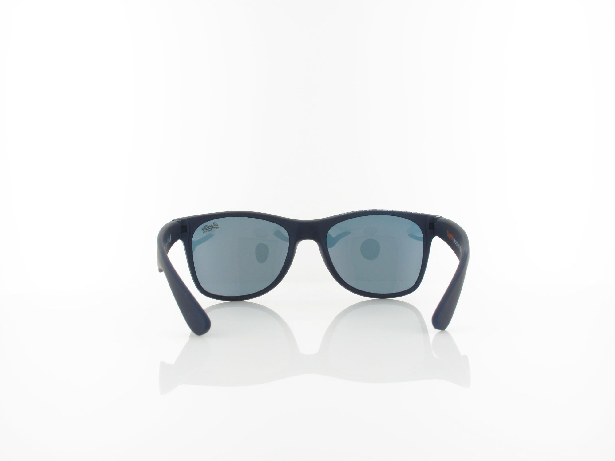 Superdry | Alfie 106P 55 | rubberised navy / red mirror polarized