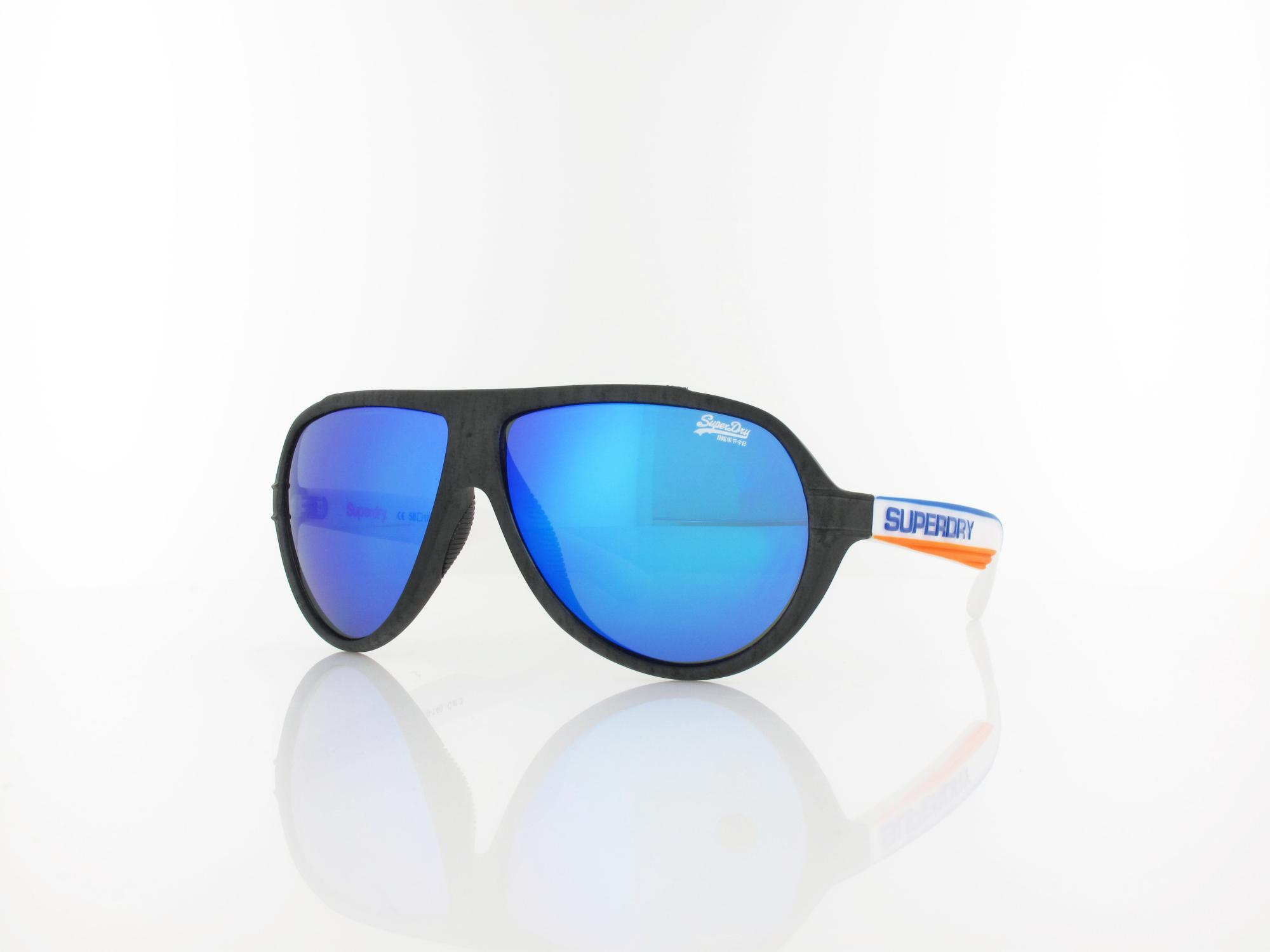 Superdry | Downtown 108 58 | rubberised marl white blue orange / violet blue revo
