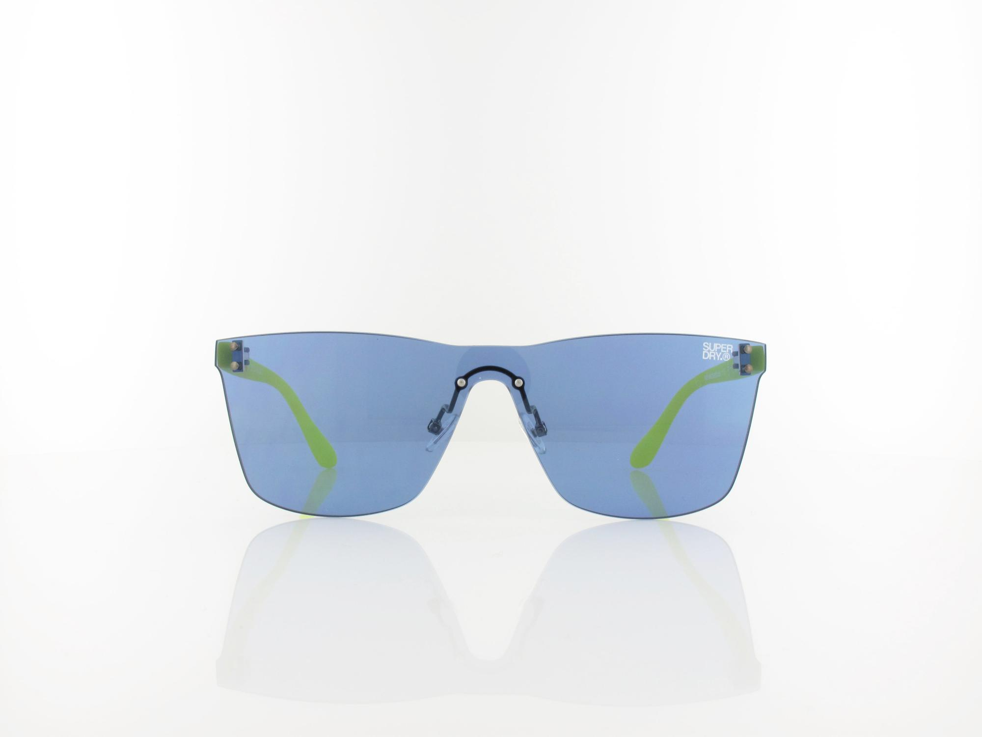 Superdry | Electroshock 105 138 | rubberised fluro green / blue revo