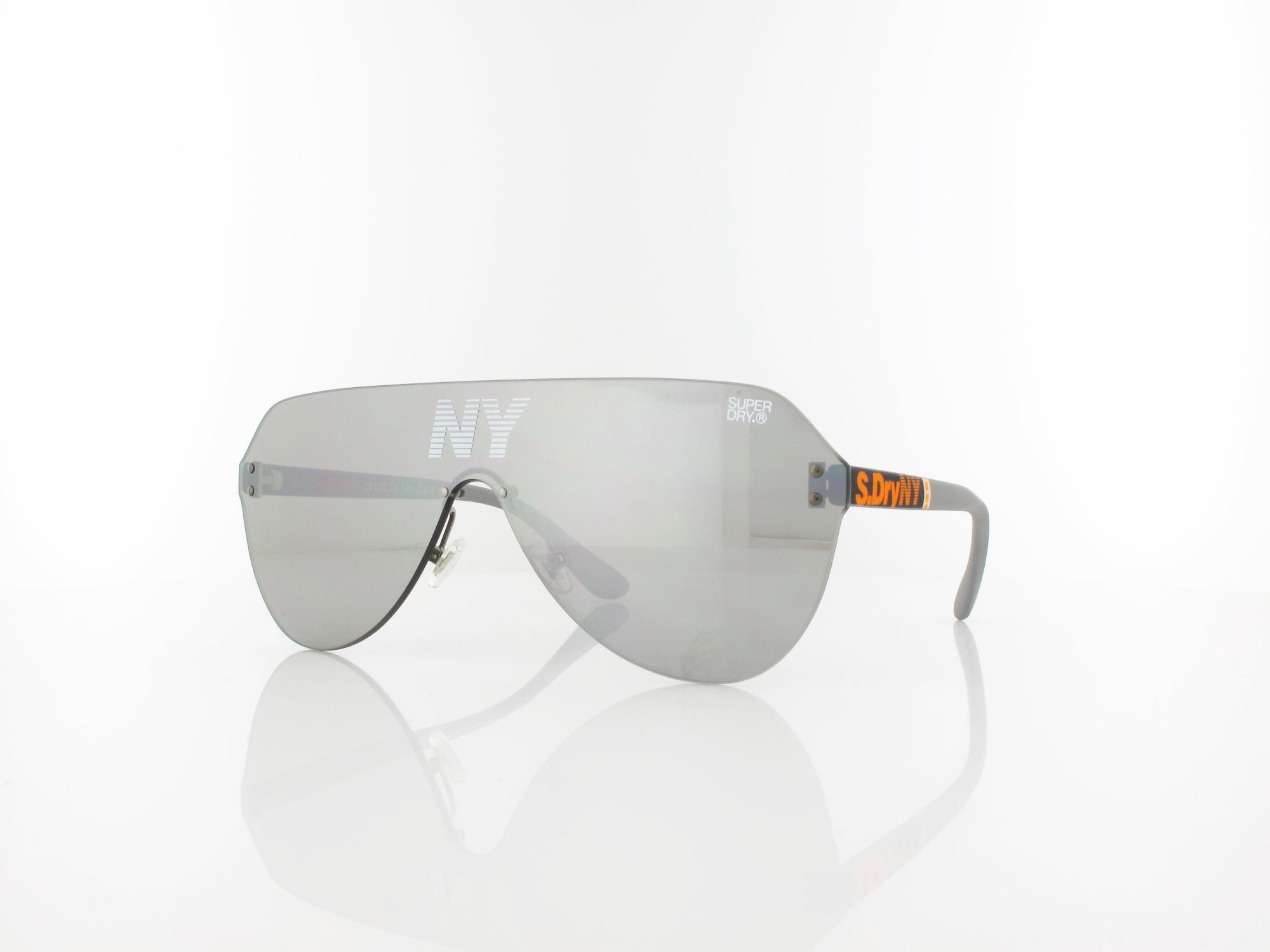 Superdry | Monovector 108 143 | rubberised grey orange / silver mirror