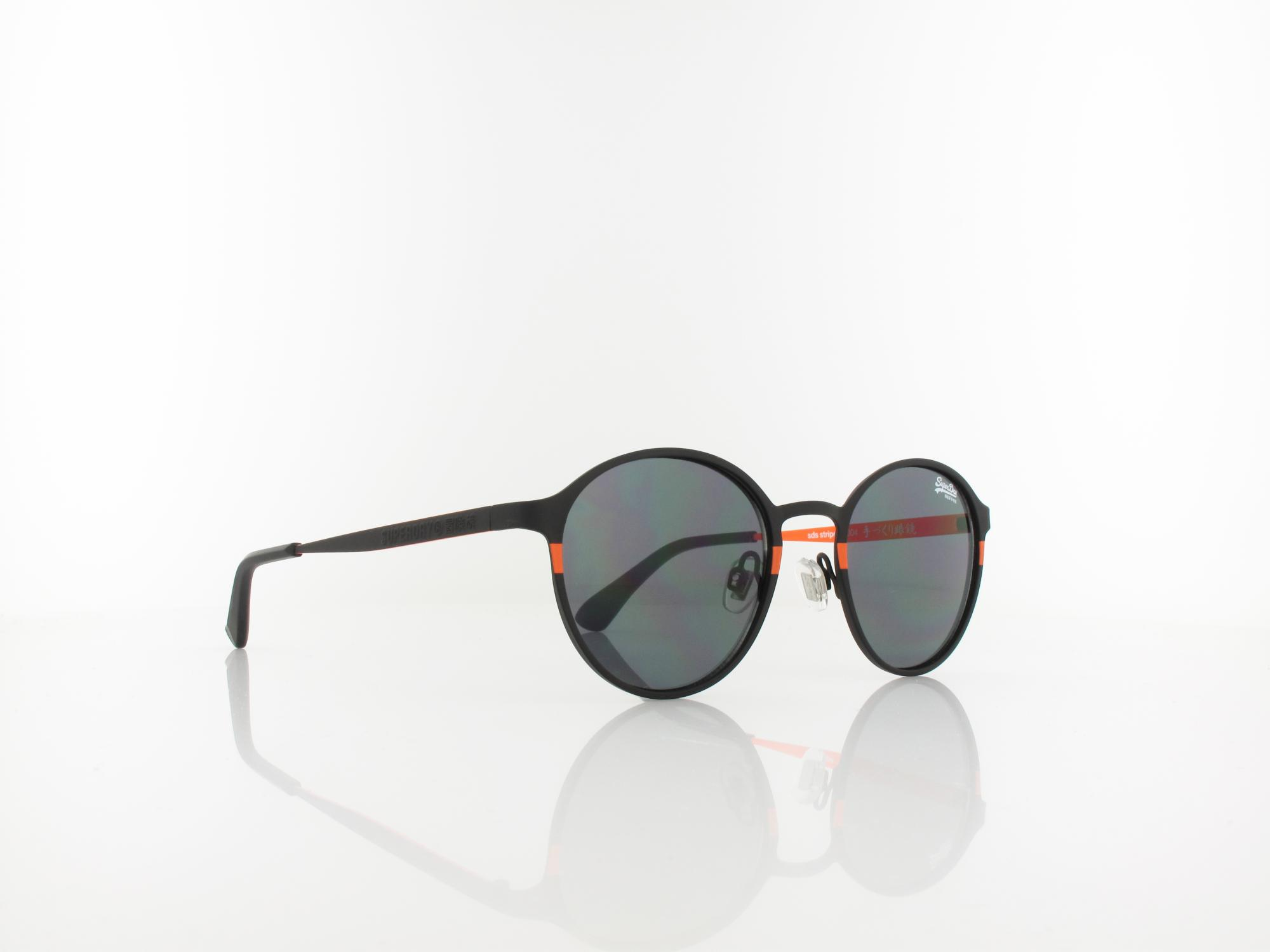 Superdry | Stripe 004 49 | black orange / solid smoke
