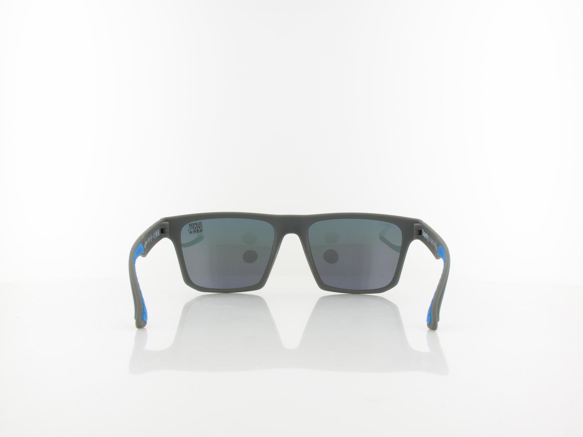 Superdry | Urban 108P 56 | grey / rainbow mirror polarized