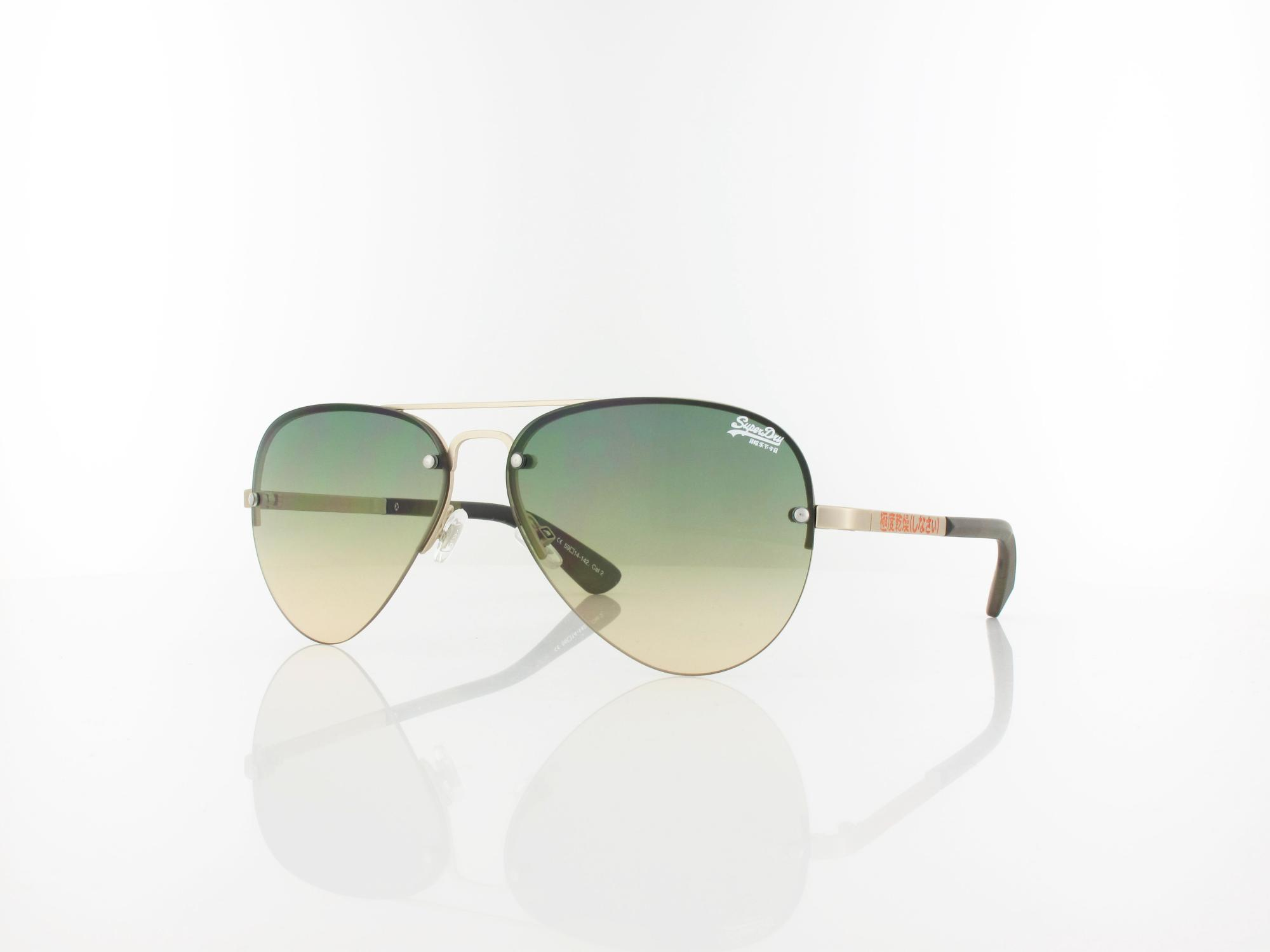 Superdry | Yatomi 001 59 | matte gold camo / green-peach fade