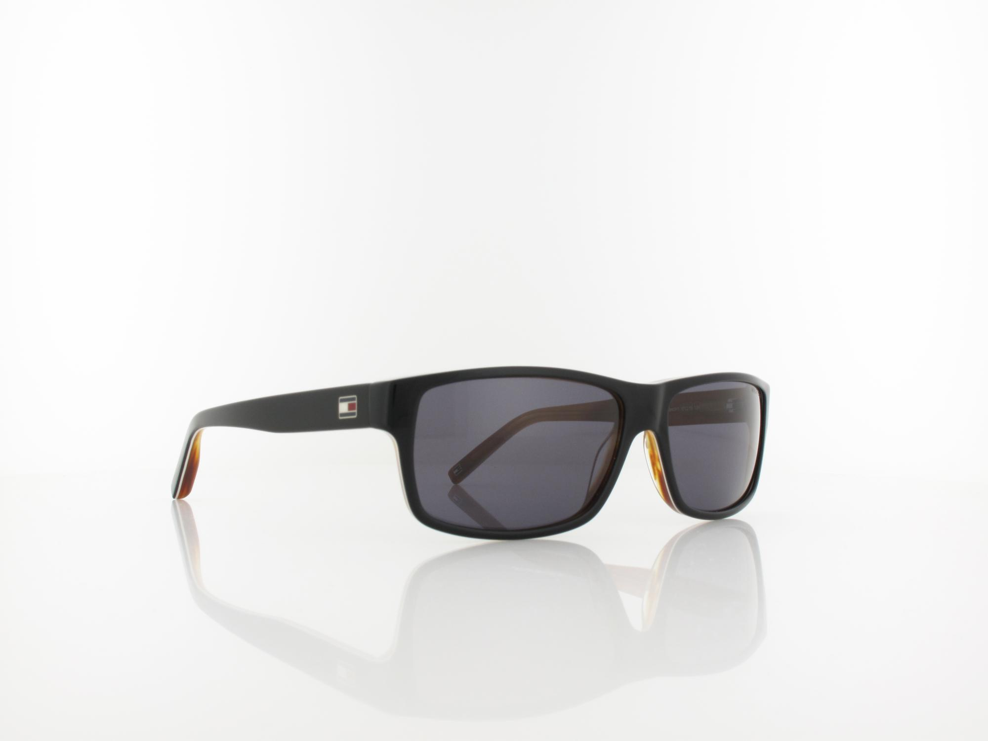 Tommy Hilfiger | TH 1042/N/S UNO Y1 57 | black white horn / grey