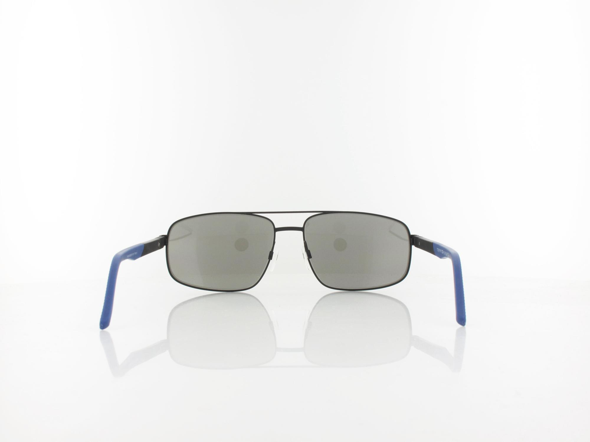 Tommy Hilfiger  | TH 1651/S  003/2Y 61 | matta black / blue mirror
