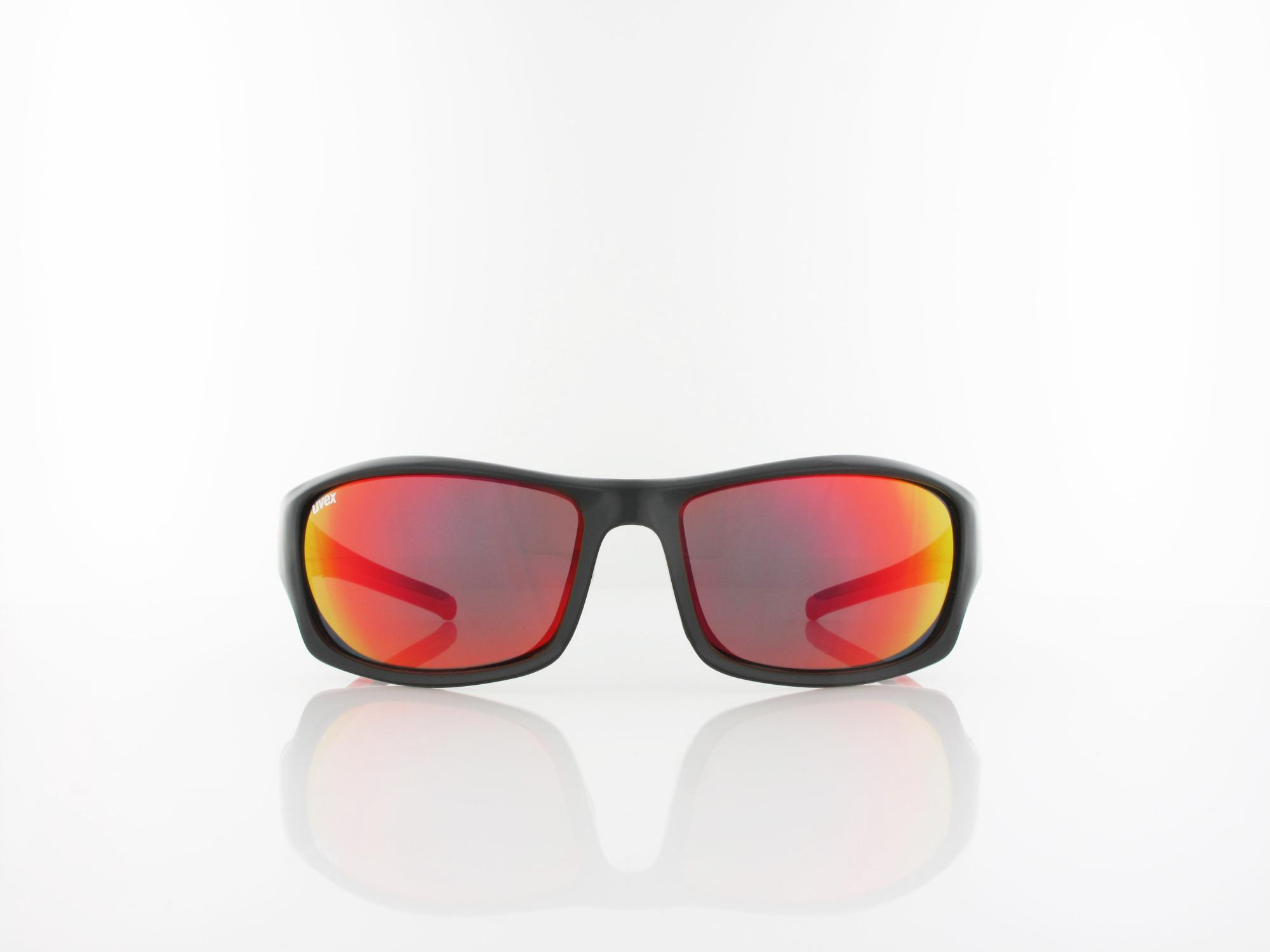 UVEX | Sportstyle 211 S530613 2213 64 | black red / mirror red