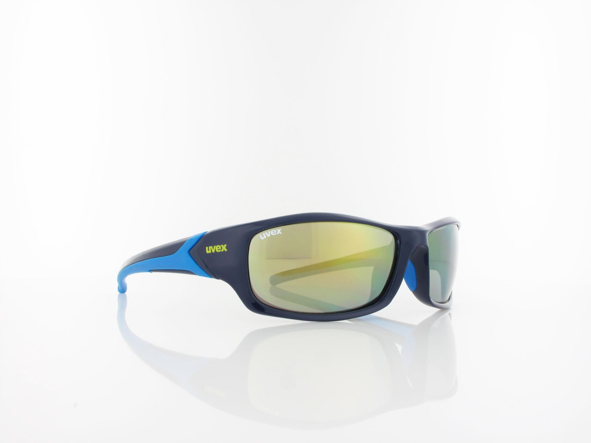 UVEX | sportstyle 211 S530613 4416 64 | blue / mirror yellow