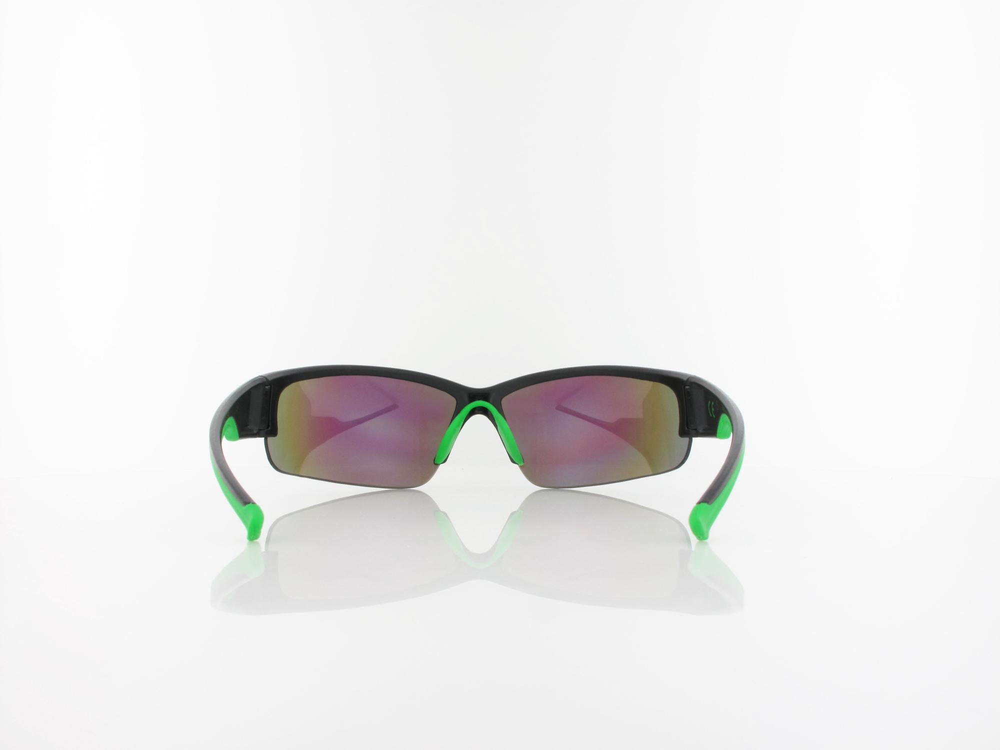 UVEX | Sportstyle 215 S530617 2716 68 | black mat green / mirror green