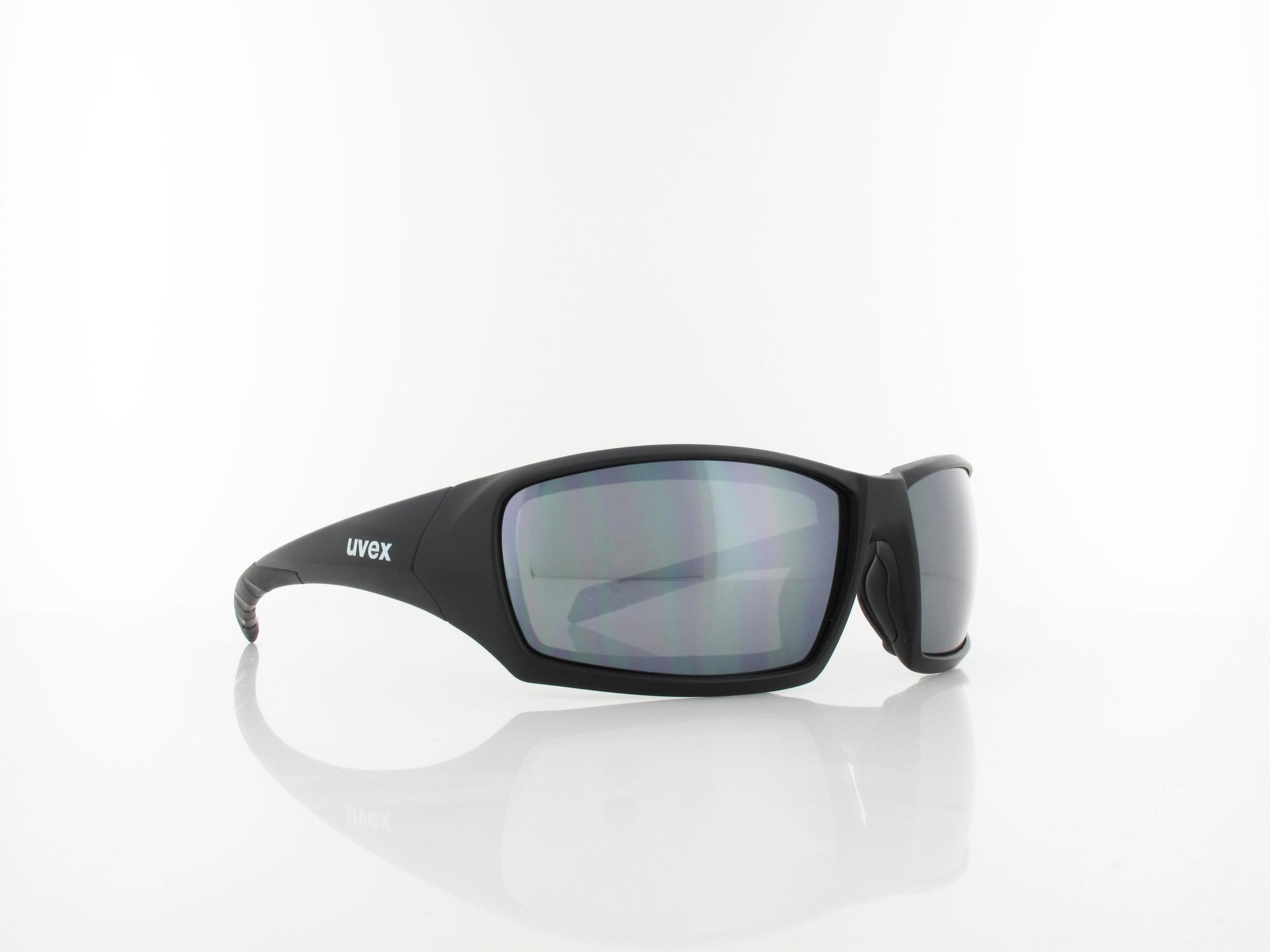 UVEX | Sportstyle 308 S530975 2216 65 | black mat / mirror silver