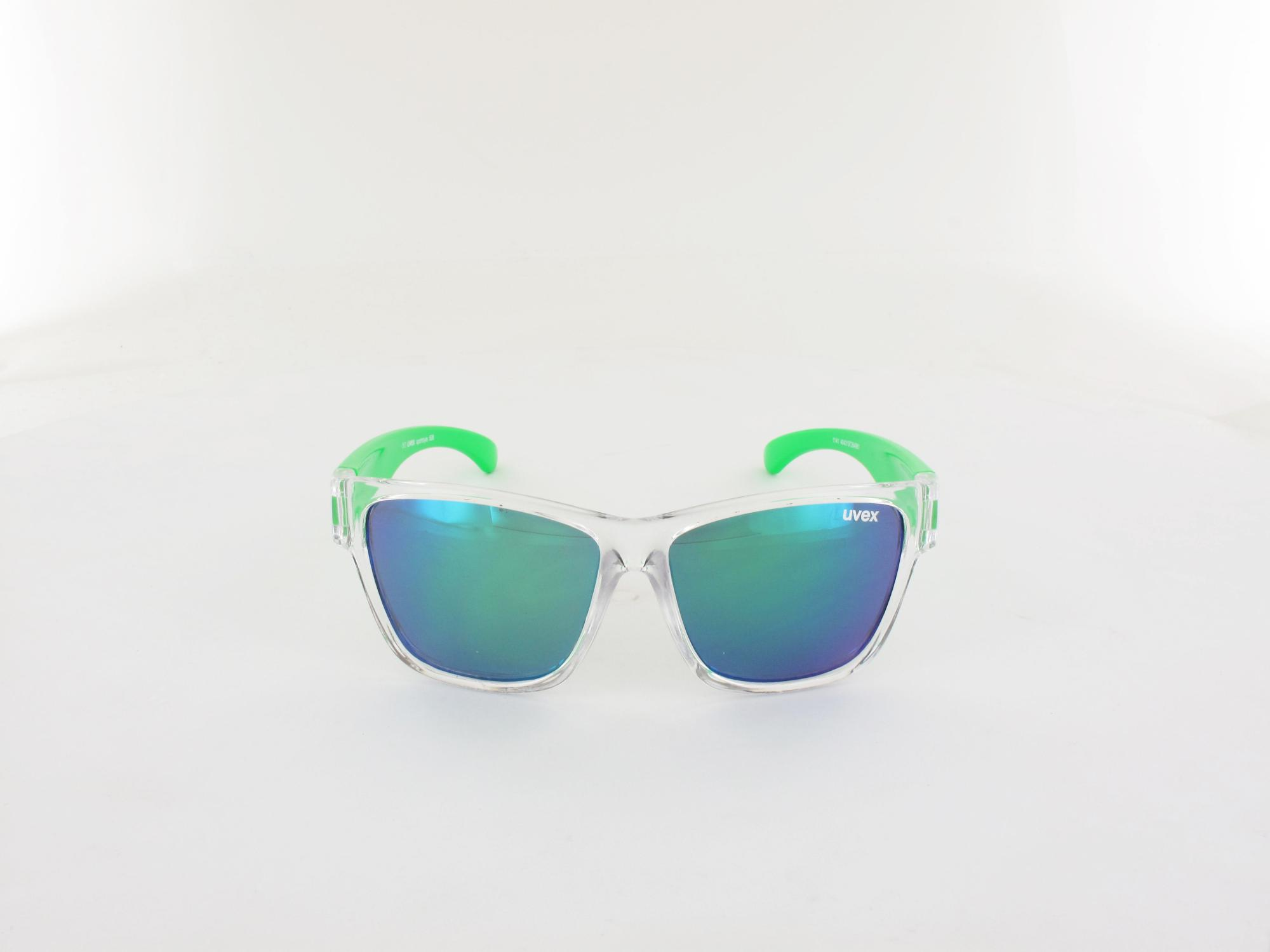 UVEX | Sportstyle KIDS 508 S533895 9716 47 | clear green / mirror green