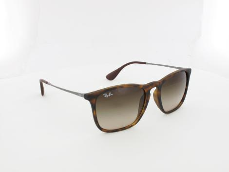 Ray Ban | Chris RB4187 856/13 54 | rubber havana / brown gradient