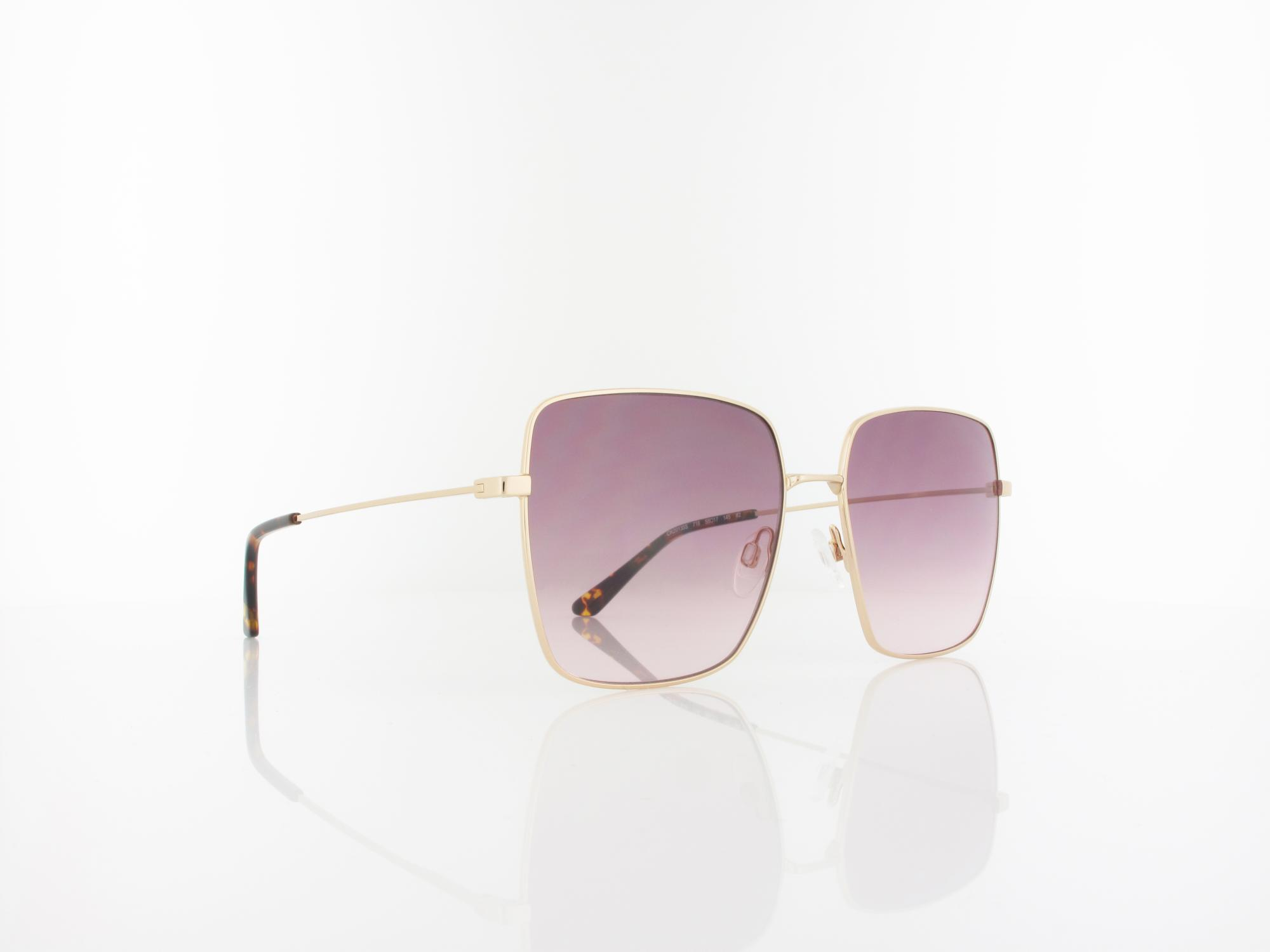 Calvin Klein | CK20135S 718 58 | yellow gold / gradient purple