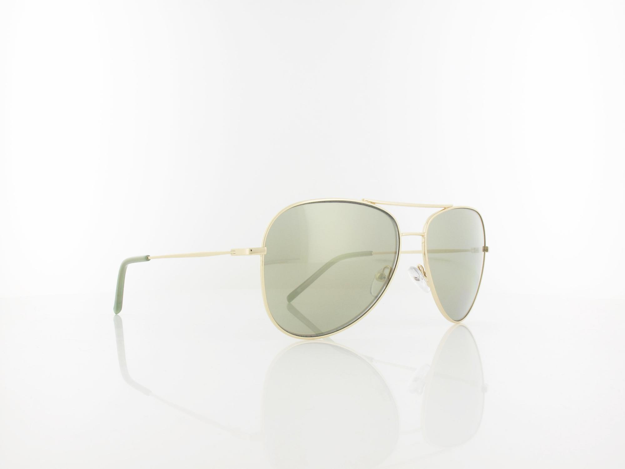 DKNY | DK102S 718 58 | gold with sage flash / grey silver mirror