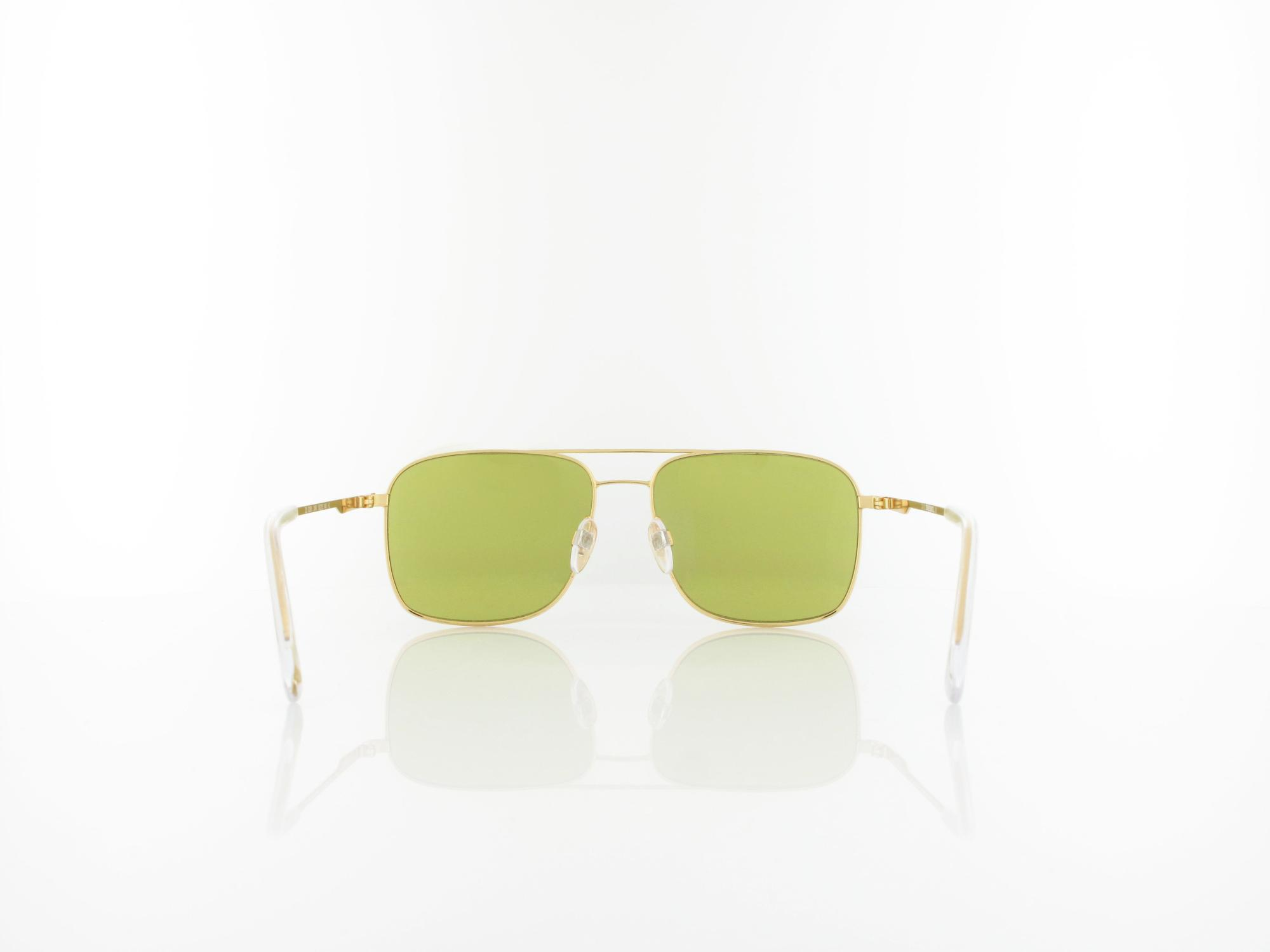 Diesel | DL0295/S 30N 55 | shiny gold / green