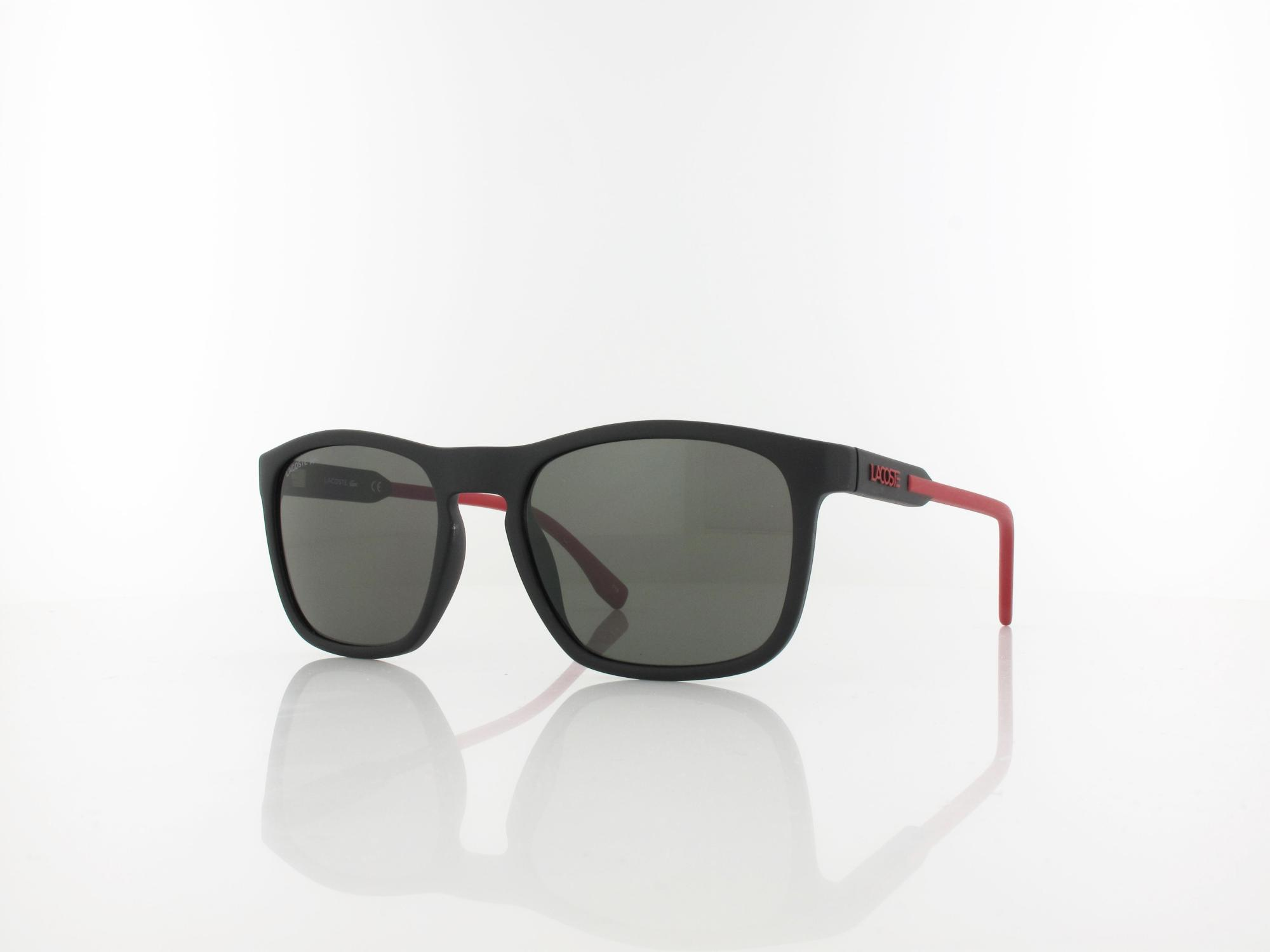 Lacoste | L604SND 004 54 | matte black red / grey