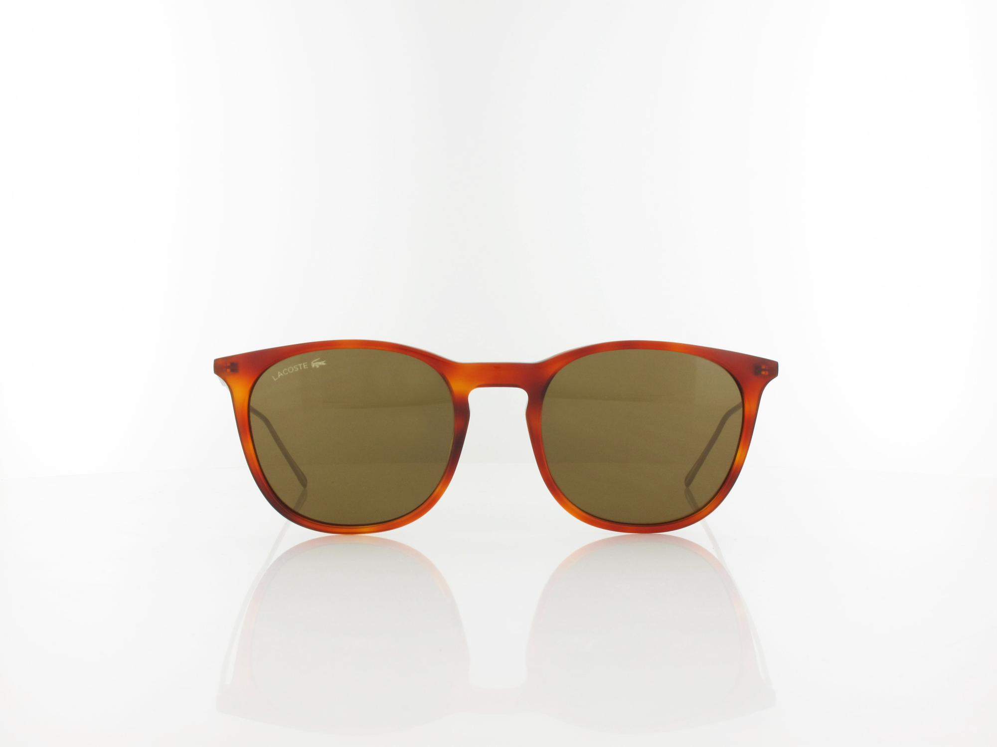 Lacoste | L879SPC 215 52 | light tortoise / brown