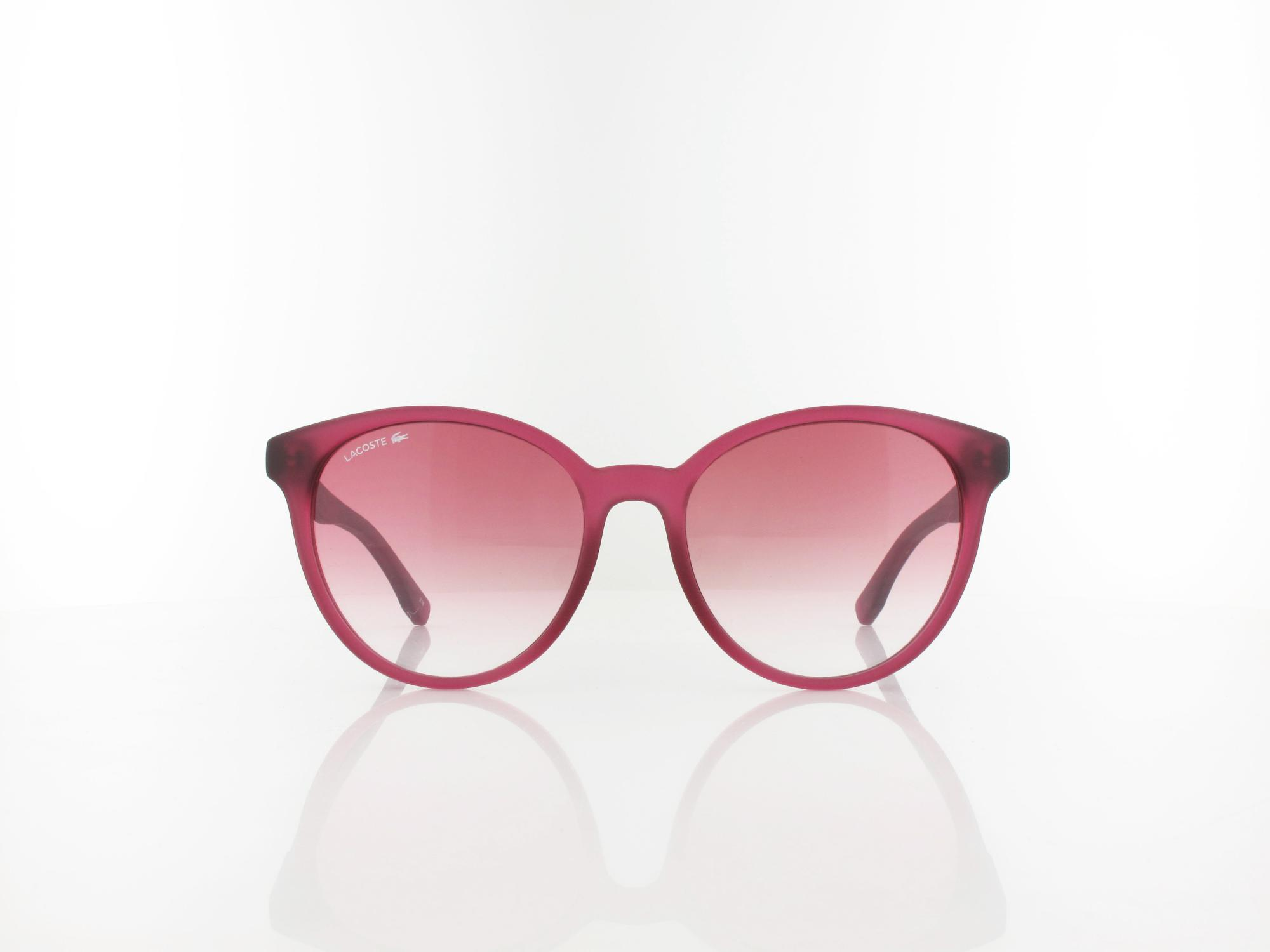 Lacoste | L887S 526 54 | transparent cyclamen / rose gradient