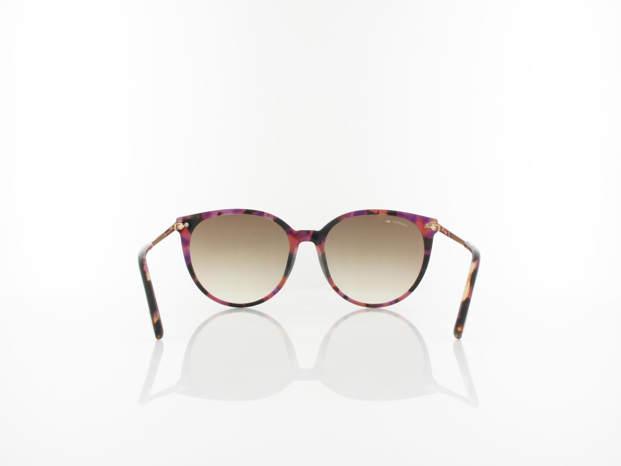 Lacoste | L928S 219 56 | purple havana / gradient brown