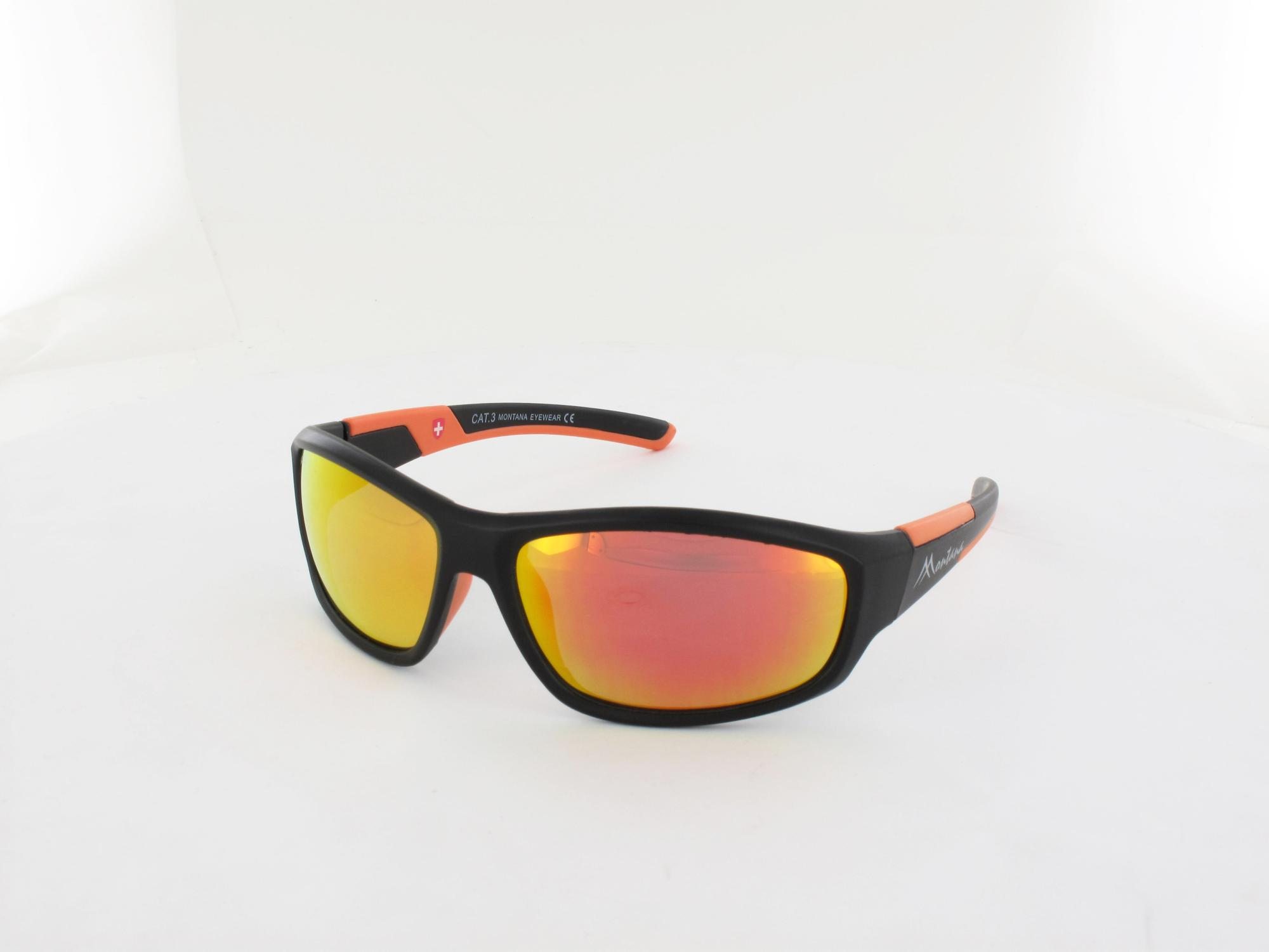 Brilando | SP311 A 62 | black orange  / red mirror polarized