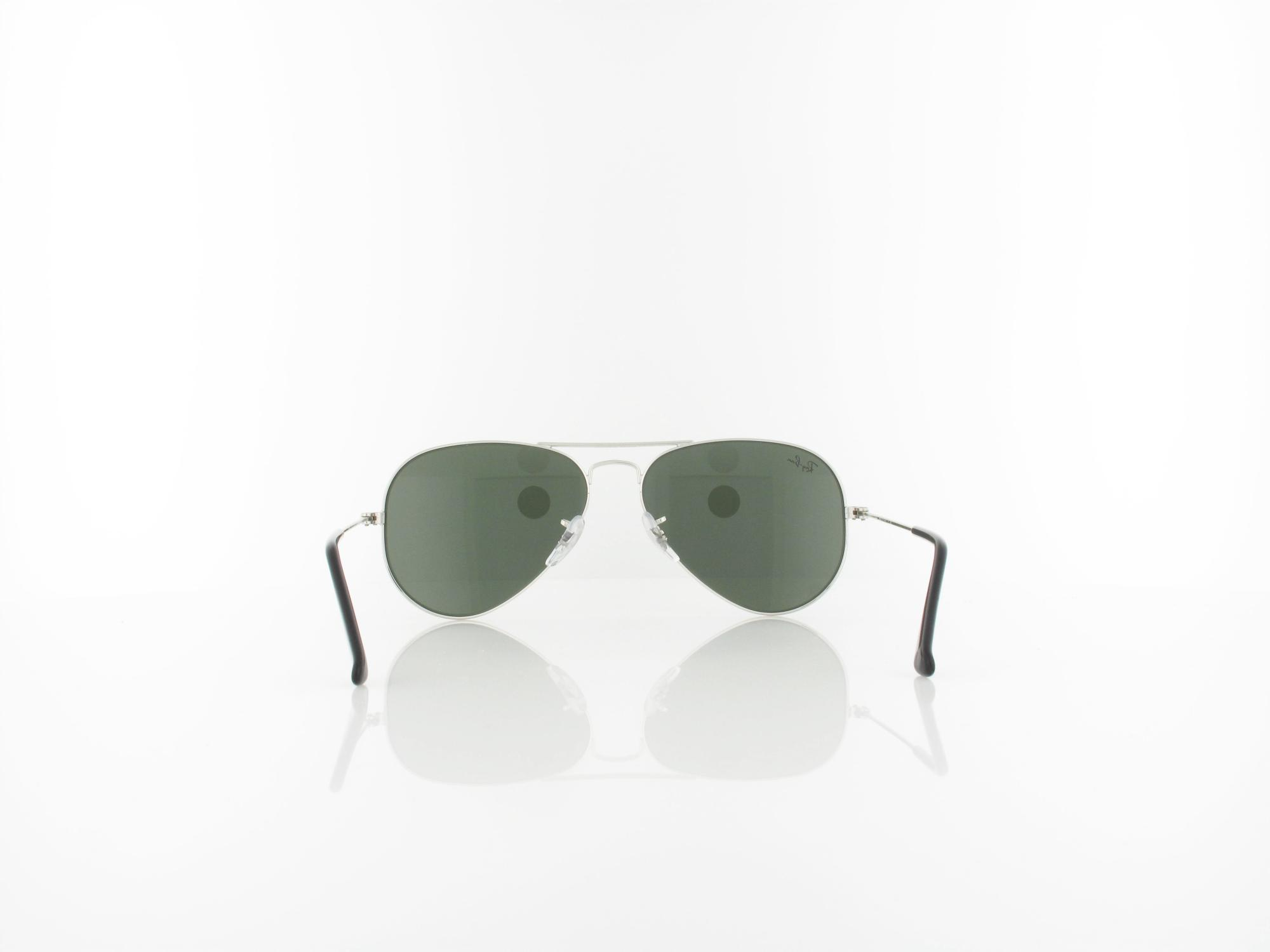 Ray Ban | Aviator Large Metal W3275 55 | silver / crystal grey mirror