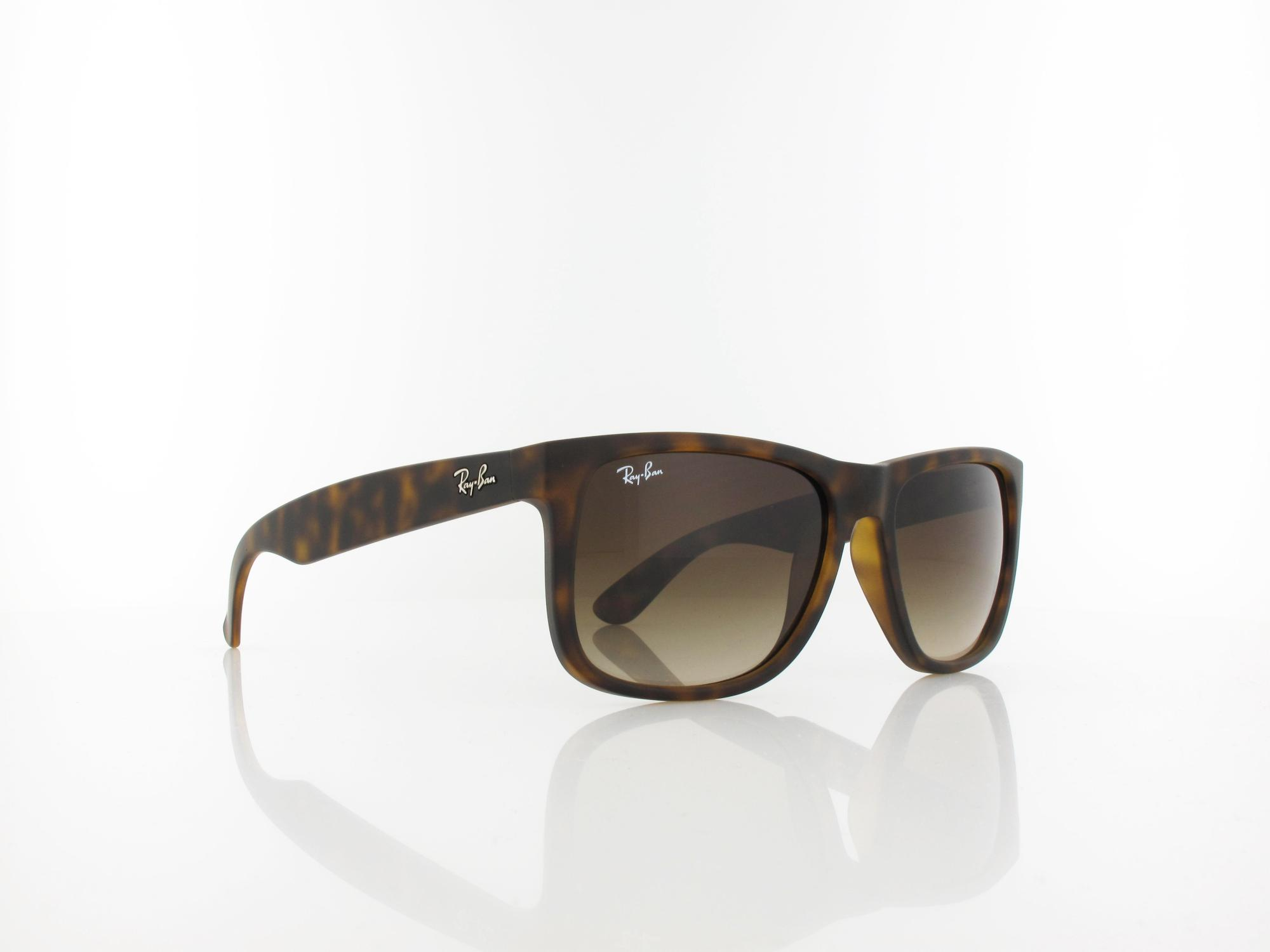 Ray Ban | Justin RB4165 710/13 54 | rubber light havana / brown gradient