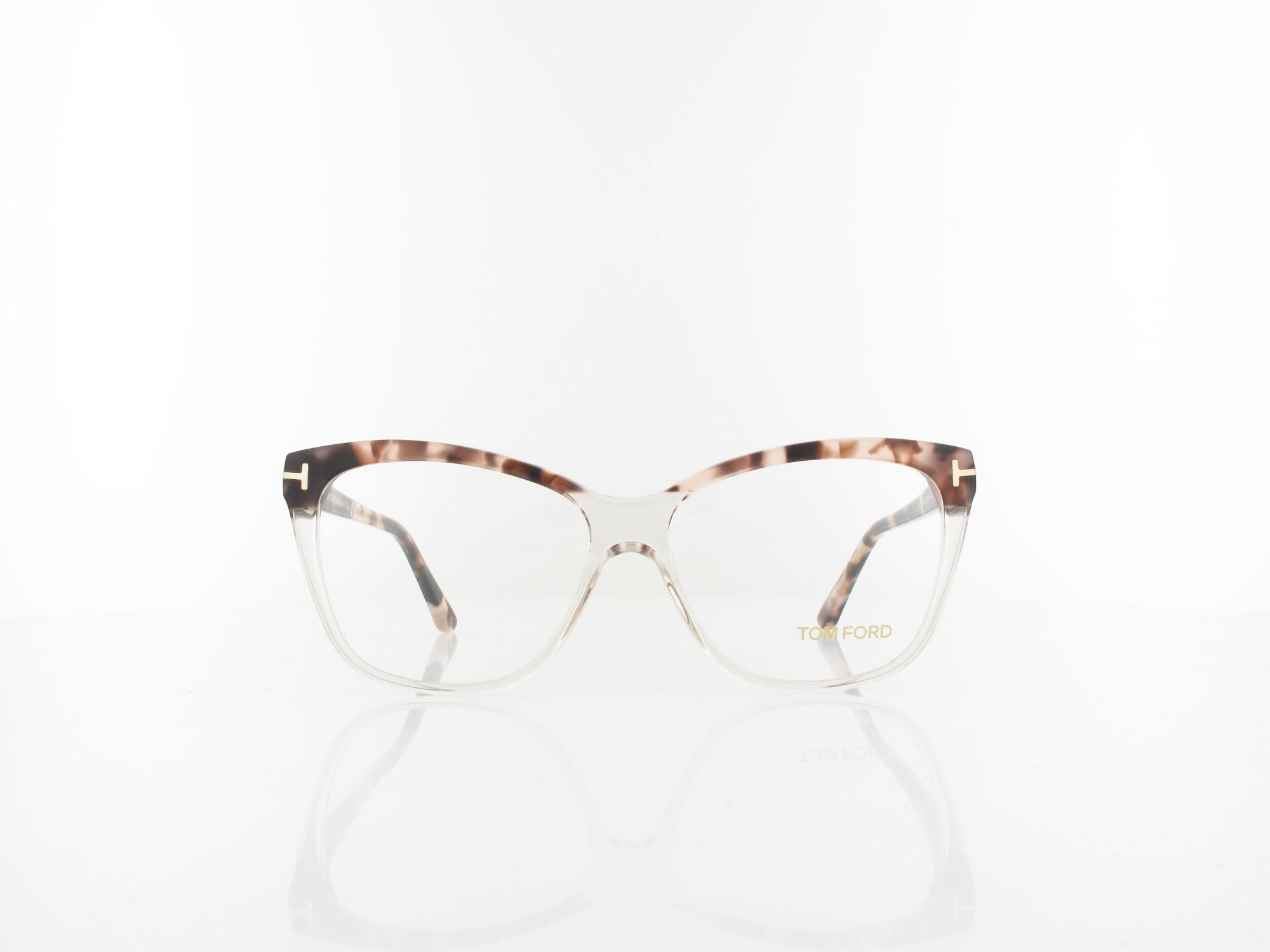 Tom Ford | FT5512 074 54 | variegated to transparent