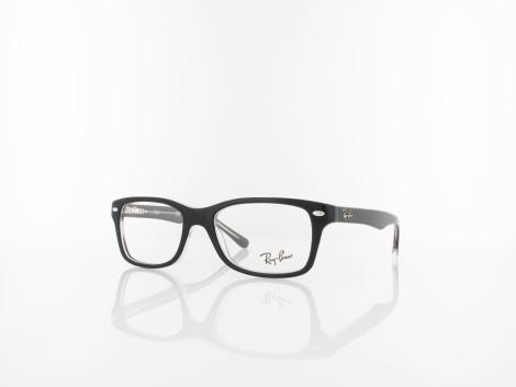 Ray Ban RY1531 small 3529 48 top black on transparent