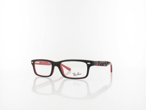 Ray Ban RY1535 3573 48 top black on red